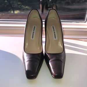 Manolo Blahnik Brown leather shoes